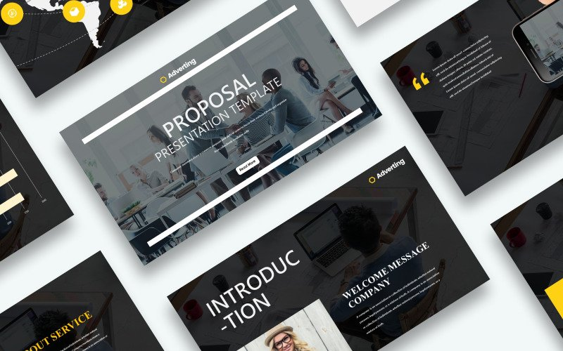 Free Proposal Presentation Powerpoint Template PowerPoint Template