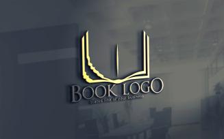 Book Restoration Logo Template