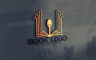 Creative Book Logo Template