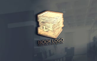 Old Books Logo Template