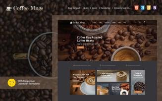 Coffee Mugs - Responsive OpenCart Template