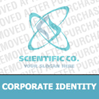 Science Corporate Identity Template 16801