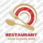 Cafe & Restaurant Logo  Template 16808
