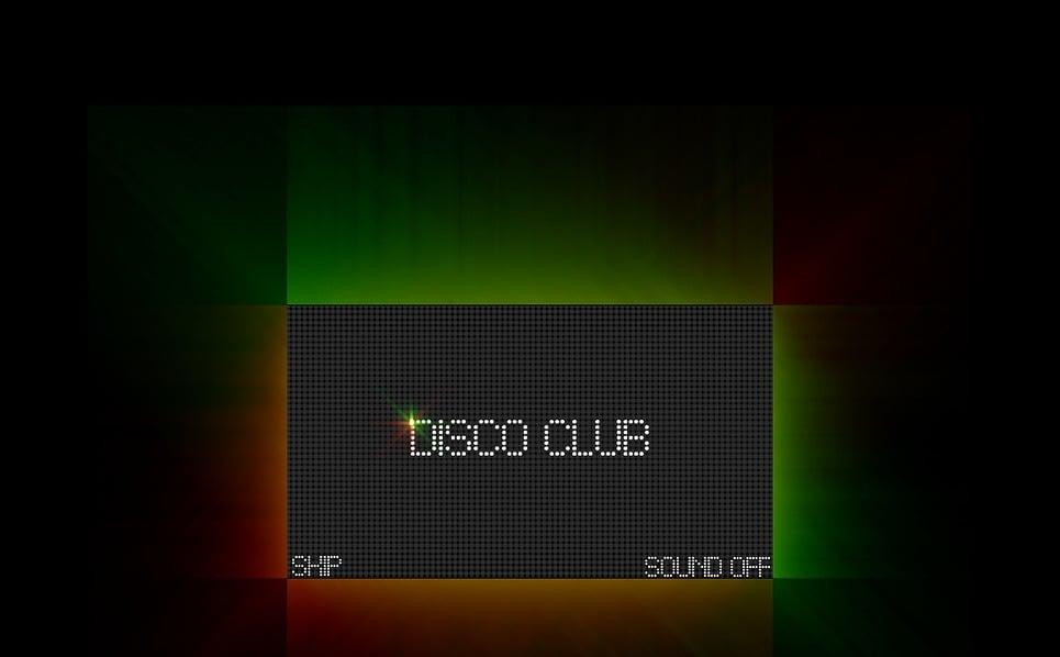 Szablon Intro Flash #16841 na temat: klub nocny New Screenshots BIG