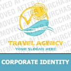 Travel Corporate Identity Template 16853