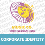 Music Corporate Identity Template 16932