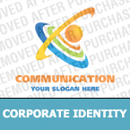 Communications Corporate Identity Template 17082