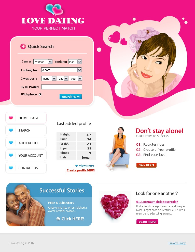 dating website for military