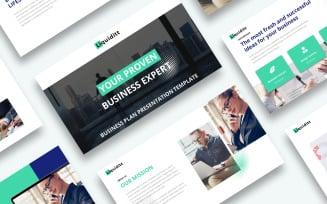 Free Business Plan Presentation - Keynote template