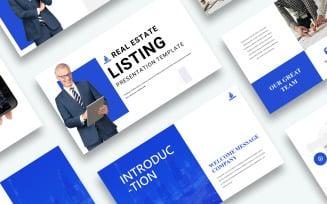 Free Real Estate Listing Presentation Google Slides