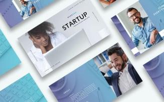 Free Startup Presentation - Keynote template