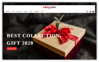 Mossmerry - Gift Store OpenCart Template