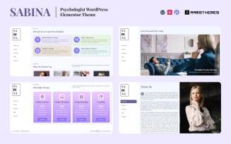 SABINA - Psychologist WordPress Theme