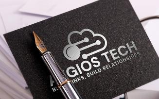 Aegios Tech Logo Template