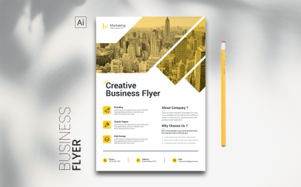 Digital Flyer Corporate Identity Template