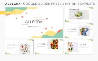 ALLEGRA - Google Slides Presentation Template