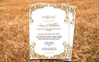 Free Wedding Invitation Corporate identity template