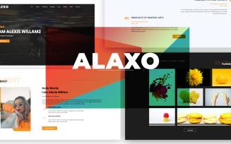 Alexo Html Landing Page Template