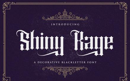 Shiny Kage - Blackletter Font