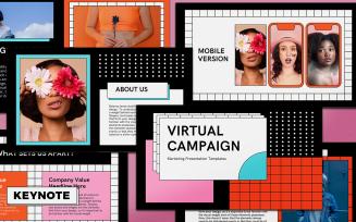 Virtual Campaign Presentation Keynote Template