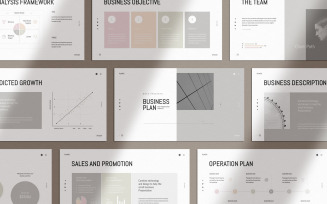 Plantic | Business Plan Keynote Template