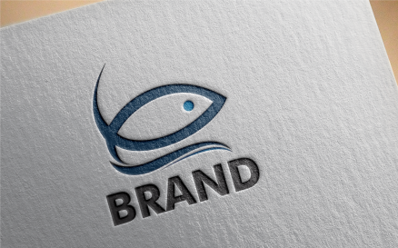 Sea Food Logo Template