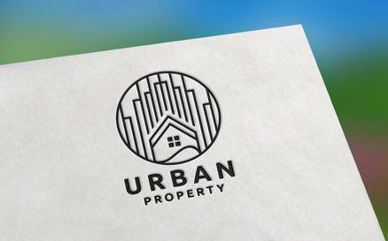 Urban Property Real Estate Logo template Logo Template