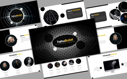 TahuBulat - Creative Business Powerpoint Template PowerPoint Template
