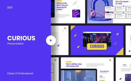 Curious Creative PowerPoint Template