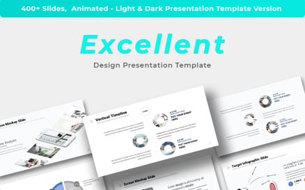 Excellent - Presentation PowerPoint Template