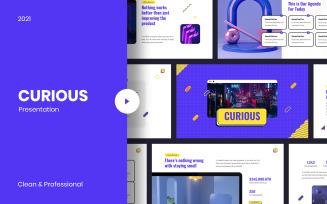 Curious Creative Google Slide Template
