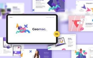 Geomac Creative Google Slides Template