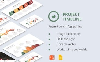 Project Timeline PowerPoint Infographics Presentation