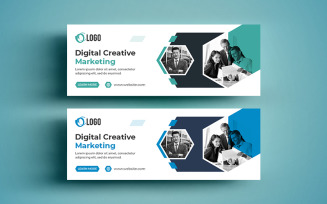 Free Digital Cover and Web Banner Social Media