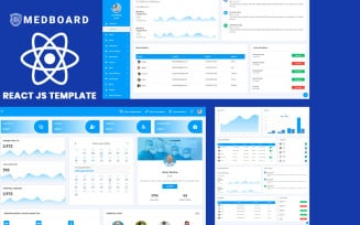 Medboard React Js Medical Admin Dashboard Template