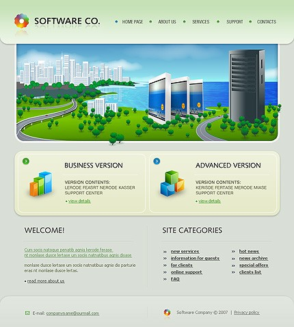 Website Template #17172