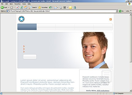 HTML HOMEPAGE SCREENSHOT