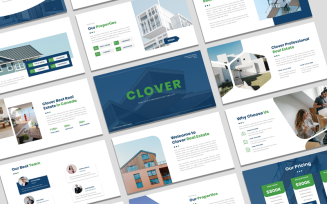 Clover - Real Estate Google Slide Presentation Template
