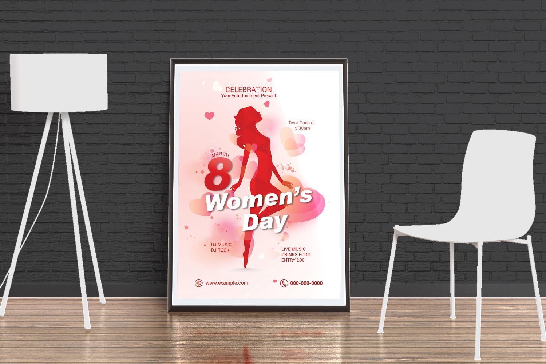 """""""Women's Day Party Flyer Corporate identity template"""" Bedrijfsidentiteit template №171062"""