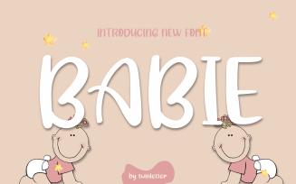 Babie Font