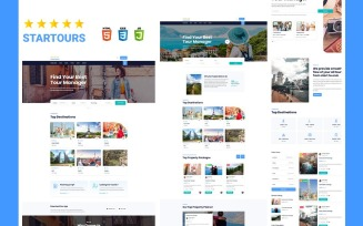 Startours Tour booking and Vacation Listing HTML5 Template