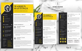 WARREN / Resume Template