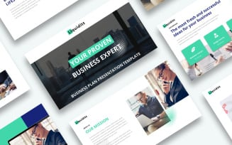 Free Business Plan Presentation PowerPoint template