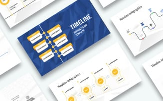 Free Timeline Presentation PowerPoint template