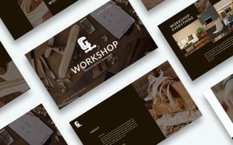Free Workshop Presentation PowerPoint template