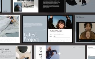 AGNIA Creative Portfolio - Keynote template
