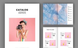 Catalog / Lookbook Layout Magazine Template (A4+US)