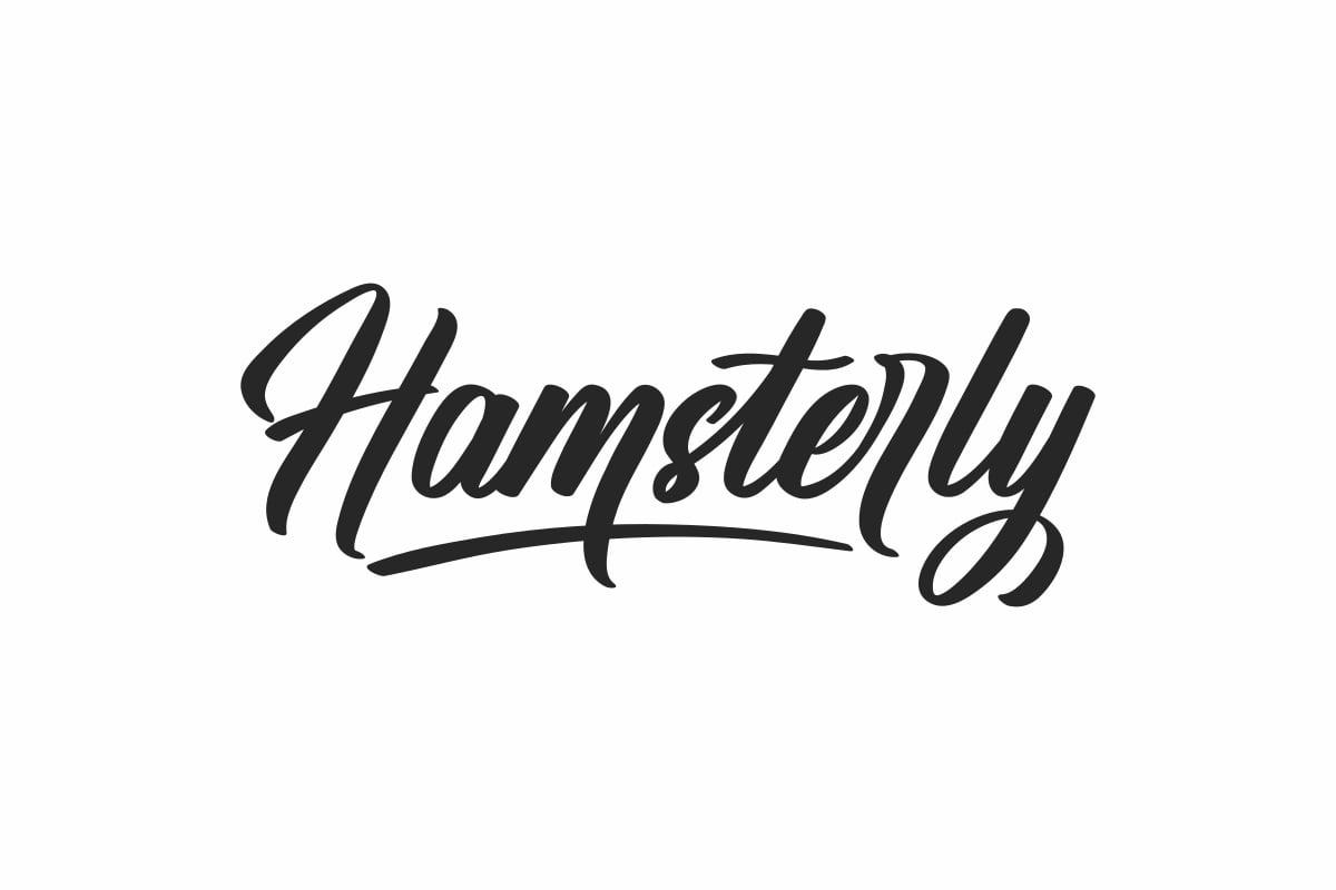 """Hamsterly Font"" Lettertype №171987"