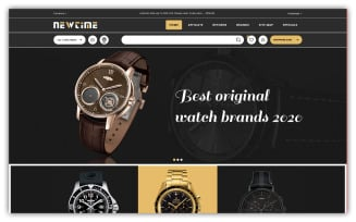 Newtime - Watch Store OpenCart Template