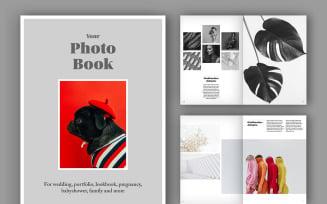 Photo Album Book Layout (A4+US) (50 pages) Magazine Templates